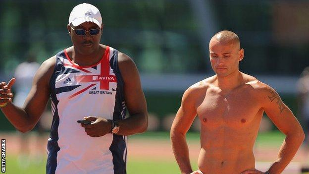 Lloyd Cowan and Andy Turner