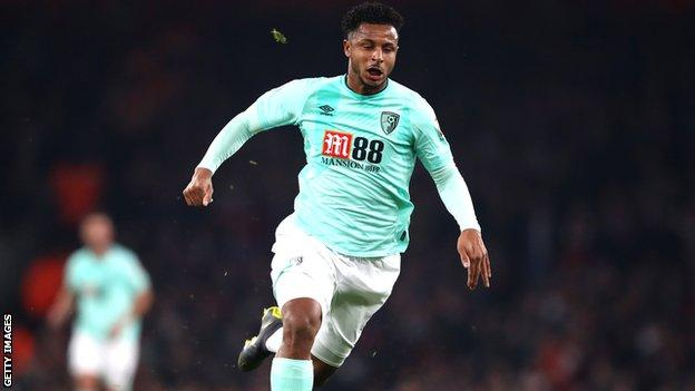 Lys Mousset in action for Bournemouth