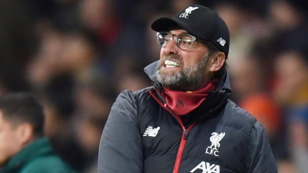Liverpool boss Jurgen Klopp warns Atletico Madrid of intimidating Anfield - bbc