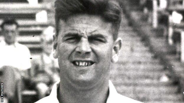 Jim Pressdee pictured in 1958