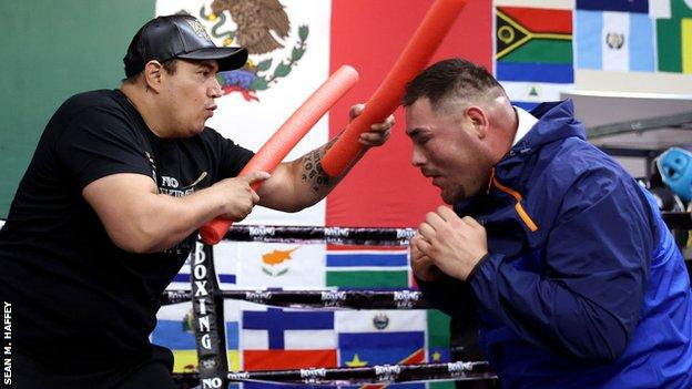 Ruiz is now trained by Eddy Reynoso, who also guides Saul 'Canelo' Alvarez