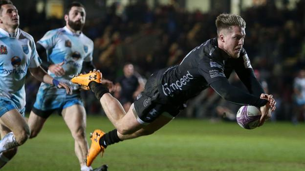 Dragons into Challenge Cup quarter-finals with bonus-point win