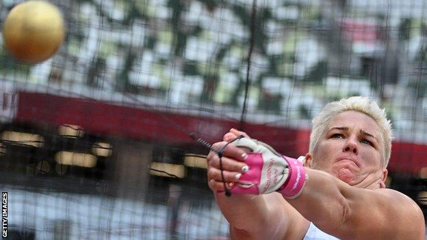 Poland's hammer thrower Anita Wlodarczyk
