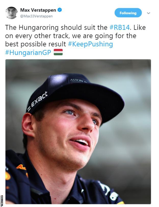 Max Verstappen Twitter