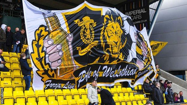 Livingston fans who can afford to help out can become shareholders in the West Lothian club