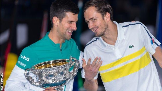 Novak Djokovic wins the Australian Open title