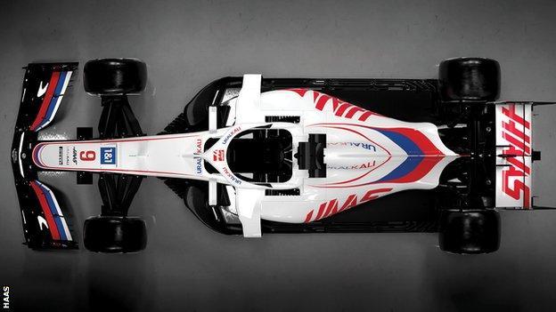 Haas' new 2021 car