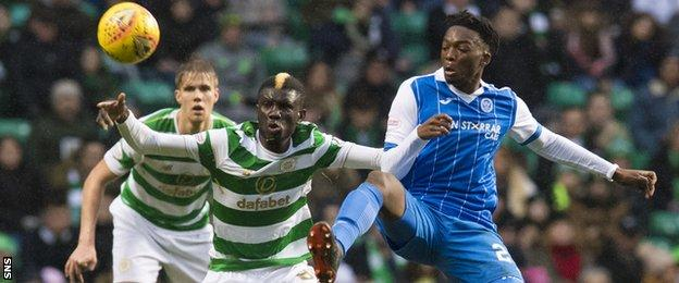 Kristoffer Ajer, Eboue Kouassi and Matty Willock