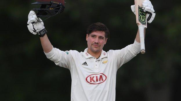Surrey's Rory Burns