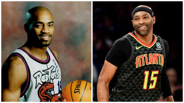 NBA: Vince Carter becomes first player to play in four different decades thumbnail