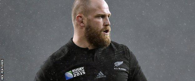 Ben Franks during the World Cup semi-final against South Africa