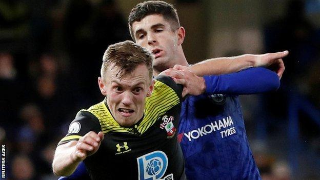 More ground covered than anyone else and more tackles than anyone else, James Ward-Prowse served up a superb display in the Southampton midfield on a day where their work rate was so key