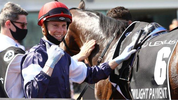 Melbourne Cup runner-up Kerrin McEvoy handed record fine for rule breach