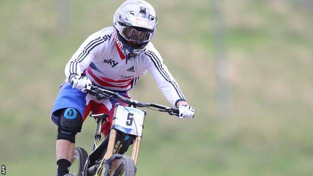 Mountain biker Gee Atherton