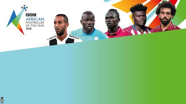 The BBC's African Footballer of the Year 2018