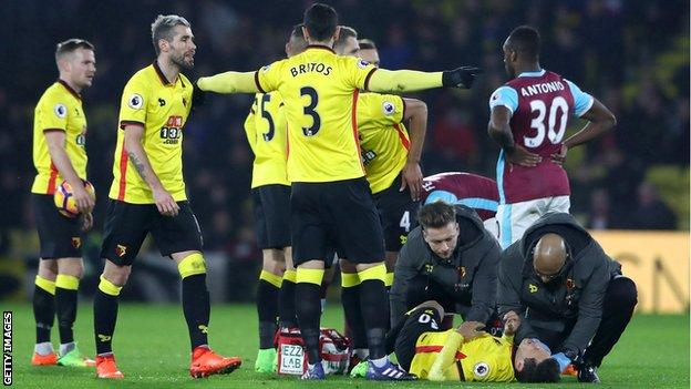 Mauro Zarate suffers injury