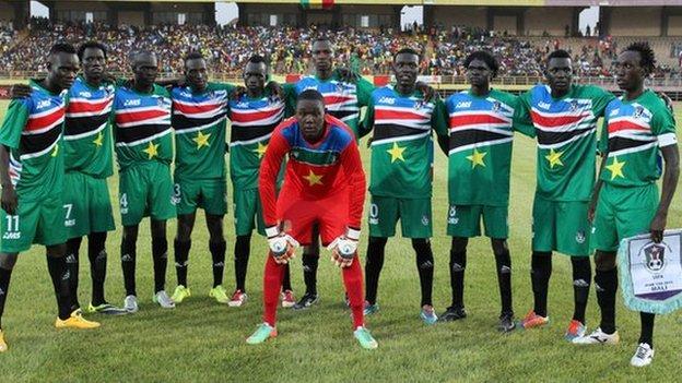 South Sudan's national football team