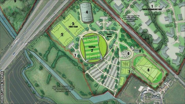 Eco Park stadium plans