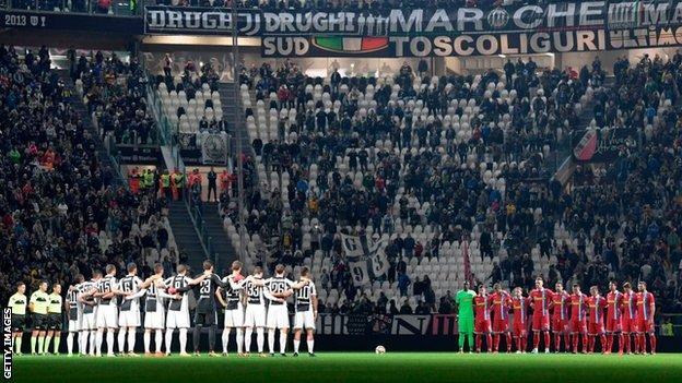 Juventus and SPAL