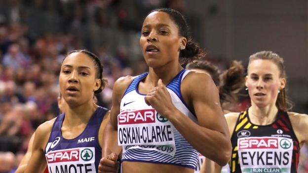 European Indoor Championships: Shelayna Oskan-Clarke wins Great Britain's third gold thumbnail