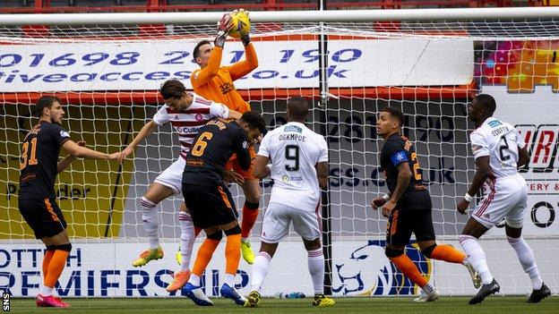 Rangers have not conceded in their opening seven games of the Premiership season
