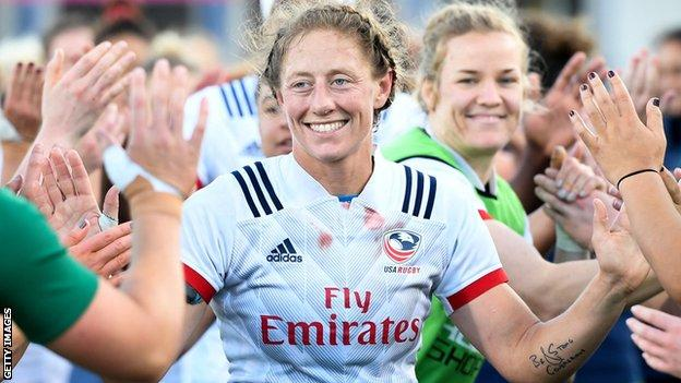 Kate Zackary - USA women's rugby union captain