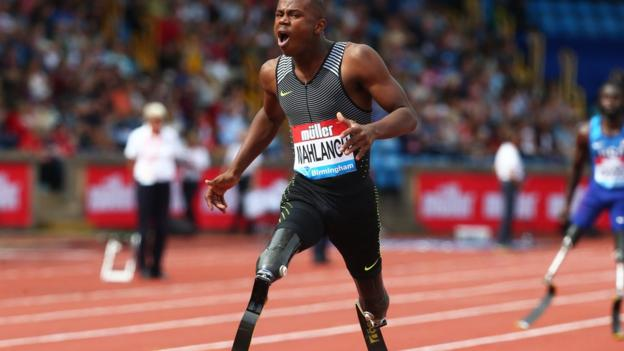 Paralympian Ntando Mahlangu: 'If people call me the new blade runner it doesn't bother me'