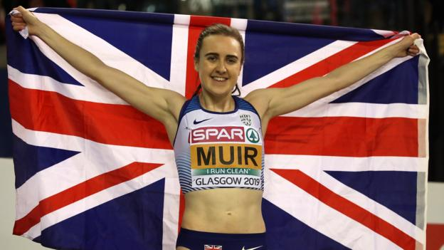 European Indoor Championships: Laura Muir a 'world star' after double - coach thumbnail