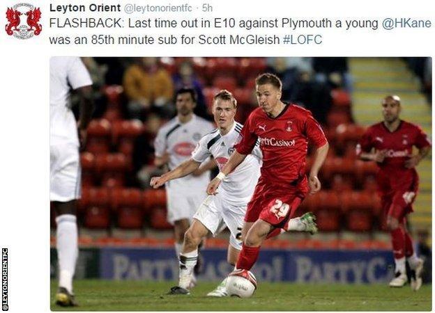 Leyton Orient tweet