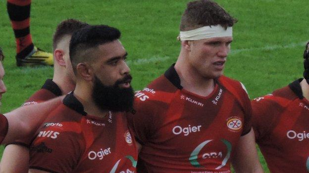 Uili Kolo'ofa'i and Will Rowlands