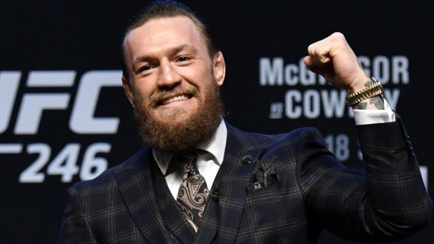 UFC 246: Conor McGregor predicts knockout win over Donald Cerrone in comeback fight thumbnail