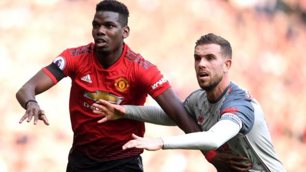 5ccc1ef50 Liverpool held to goalless draw by injury-hit Man United - BBC Sport