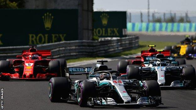 Lewis Hamilton finishes ahead of team-mate Valtteri Bottas in Sochi