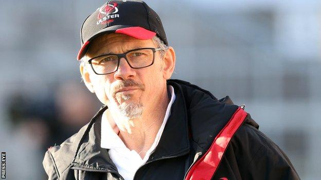 Les Kiss is Director of Rugby at Ulster