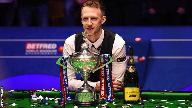 English snooker player Judd Trump
