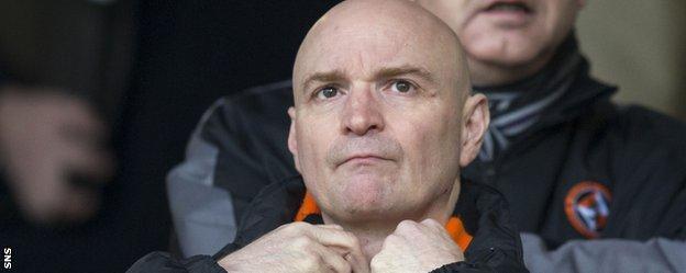 Dundee United chairman Stephen Thompson criticised the summer signings made by former manager Jackie McNamara