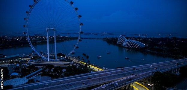 Singapore Grand Prix - Marina Bay Circuit