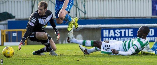 Celtic score against Inverness Caledonian Thistle