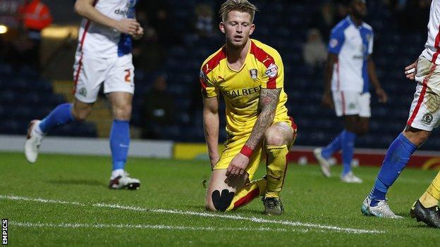 Rotherham midfielder Luke Hyam