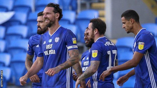 Sean Morrison scored for the second successive game as Cardiff eased past Hull