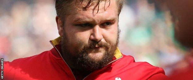 Wales tight-head prop Tomas Francis