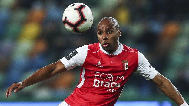 Sporting Braga and Angola's Wilson Eduardo