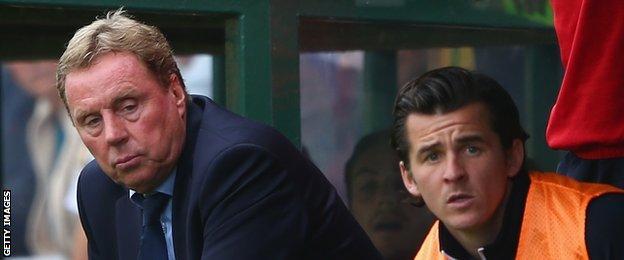 Harry Redknapp and Joey Barton