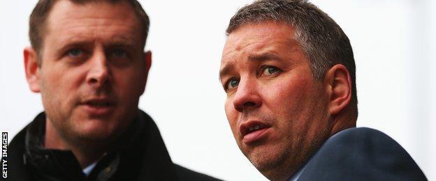 MacAnthony and Darren Ferguson
