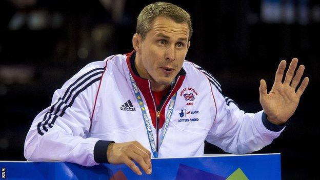 Scottish Judo high performance coach Euan Burton