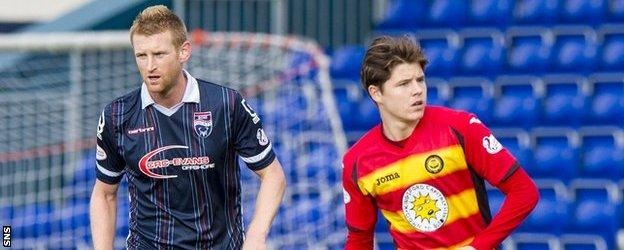 Nisbet made his debut for Partick Thistle against Ross County in the Scottish Premiership