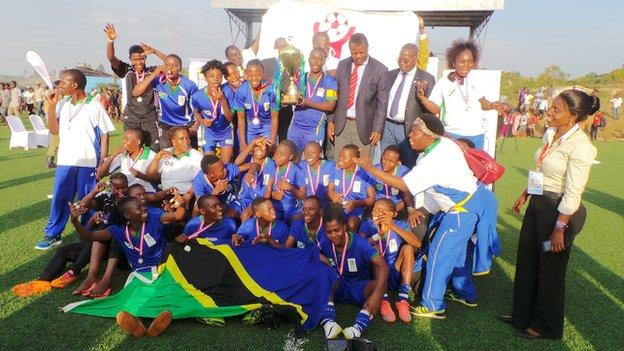 Tanzania have made history by winning the first Women's Cecafa Championship