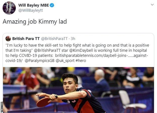 Will Bayley Twitter