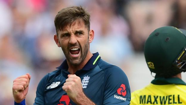 102008157 plunkett rex - England v Australia: Liam Plunkett claims colossal wicket of Glenn Maxwell