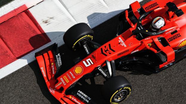 Abu Dhabi Grand Prix: Sebastian Vettel crashes as Valtteri Bottas top thumbnail